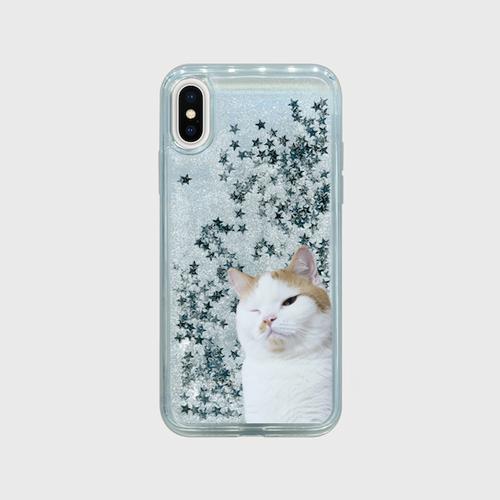 【送料無料】ルナくんiPhoneケース(ラメ)