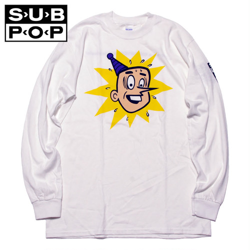 """(サブポップ)SUB POP L/S PRINT TEE """"PUNKY"""""""
