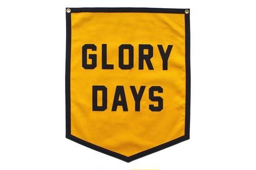 GLORY DAYS Championship Banner