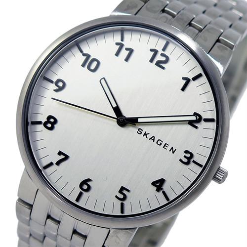 スカーゲン SKAGEN クオーツ メンズ 腕時計 SKW6200 シルバー シルバー