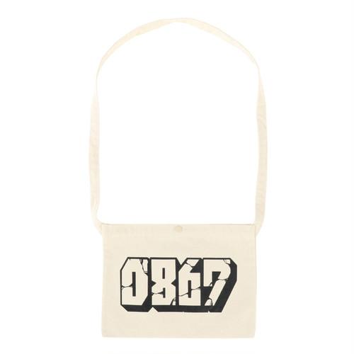 0867 / Sacoche Bag / Blockbuster / Logo / Natural