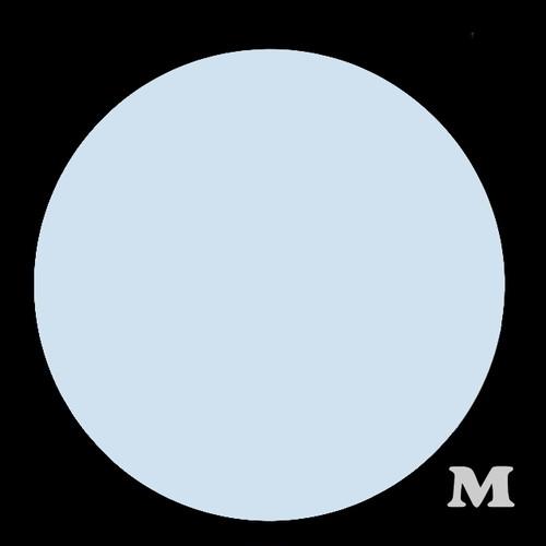 マル型(M)★ライトブルー