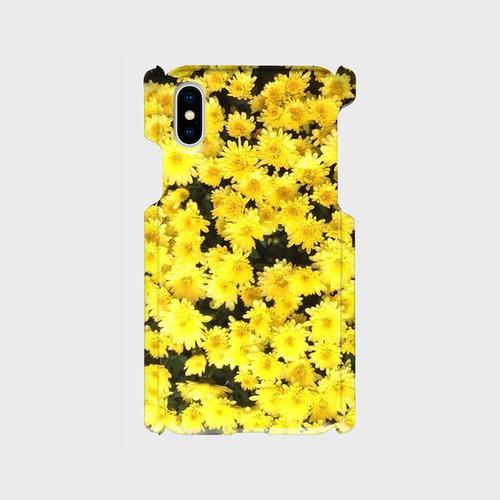 スマホケース★黄色い花