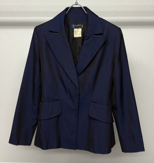 1980s CLAUDE MONTANA CROPPED TAILORED JACKET