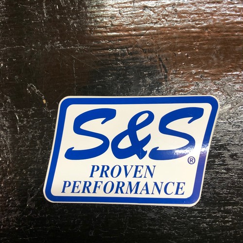 S&S PROVEN PERFORMANCE Vintage Sticker Square