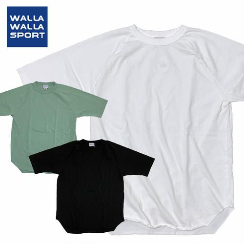 (ワラワラスポーツ)WALLA WALLA SPORT 1/2 SLEEVE LOOSE BB TEE