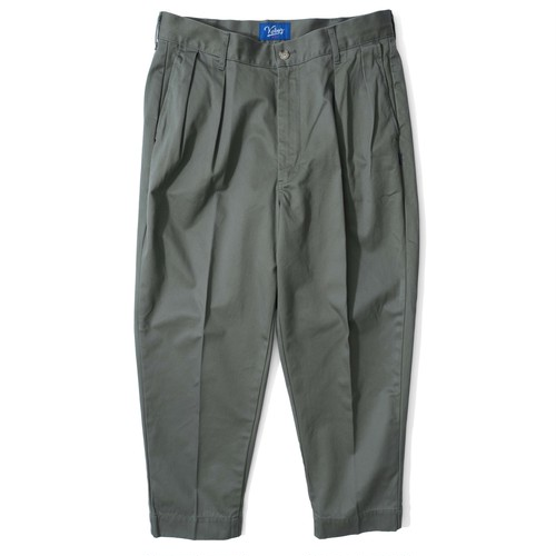 WEST POINT WIDE TAPERD PANTS【OLIVE】