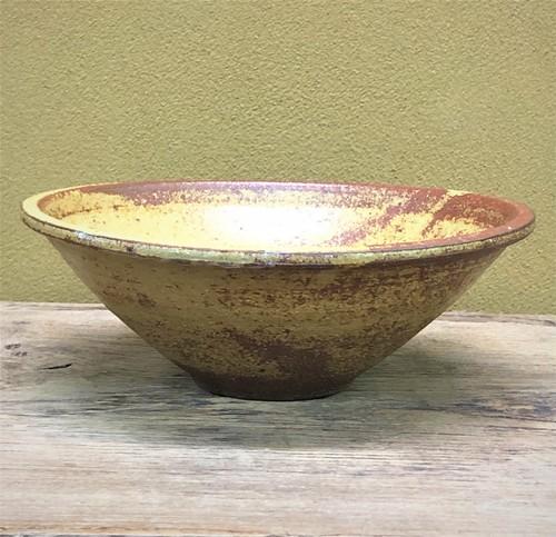 伊羅保釉麺鉢