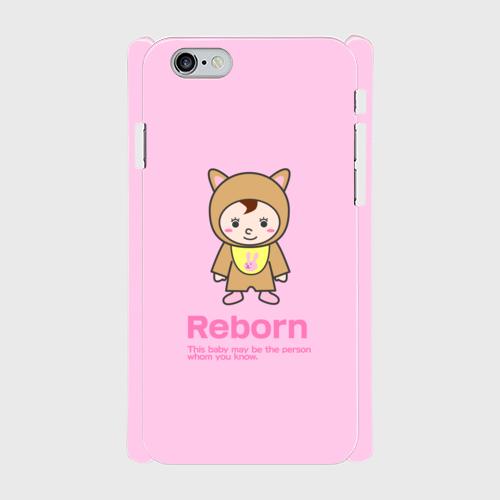 Reborn iPhone6/6s 側表面印刷スマホケース ツヤ有り(コート)