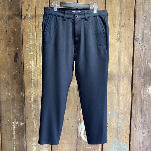roarguns / WOOL.GABARDINE PANTS BLACK