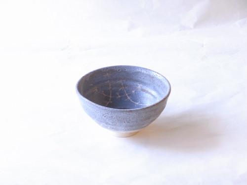 美濃焼 桃山窯 林英仁 作 鼠志野 抹茶碗