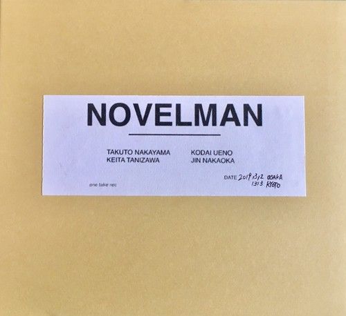 3rd mini album『NOVELMAN』