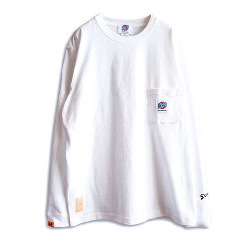 【DARGO】Working Pocket Long T-shirt (WHITE)