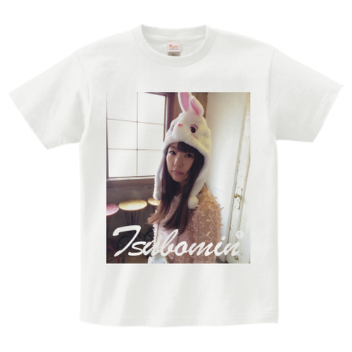 TSUBOMIN / FEBRUARY PHOTO T-SHIRT WHITE