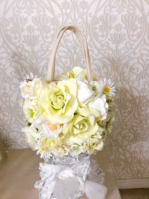 ミニバッグ 花バッグ パーティーバッグ フラワーモチーフ バッグ