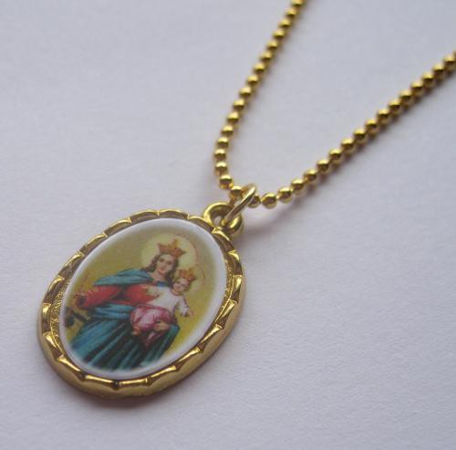 TheDelight WHITE MARIA MEDAI PENDANT(ホワイト マリア メダイ ペンダント)GOLD