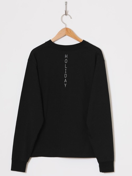 【HOLIDAY】SUPER FINE DRY PACK L/S T-SHIRT