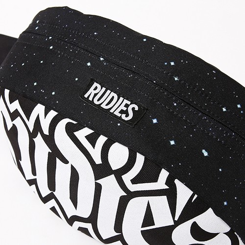 "RUDIE'S / ルーディーズ |  "" SPARK WAIST BAG "" - BLACK GALAXY"
