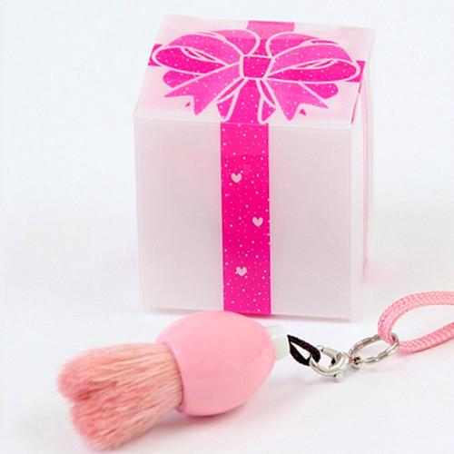 ミニチュアストラップ BOX (ピンク/ピンク)