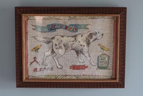 "embroidery ""gun dog"""