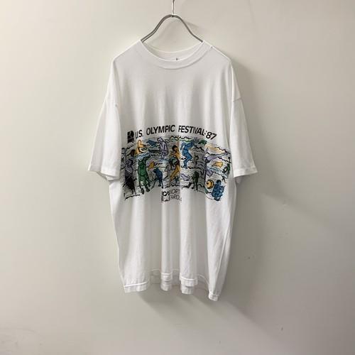 U.S. OLYMPIC FESTIVAL '87 プリントTシャツ size XL USA製 メンズ 古着