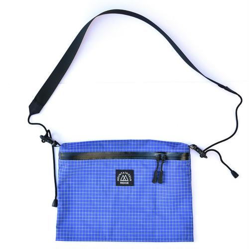 RIDGE MOUNTAIN GEAR(リッジマウンテンギア)Shoulder Pack 140d Dyneema Gridstop(Blue)