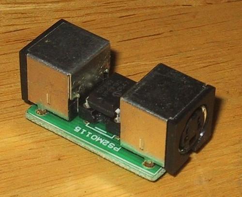 PS/2-ADB変換器 (PS2M0115)