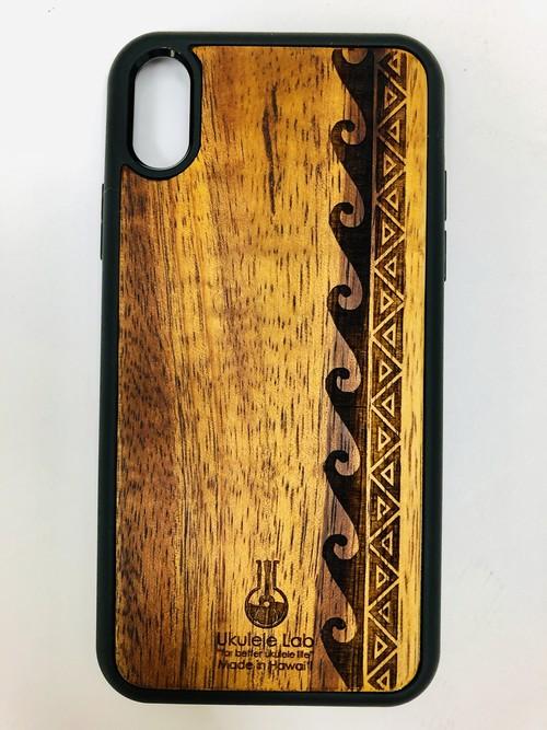 アイフォンケース 波 ウェーブ iPhoneXR ウクレレ・ラボ uk-86