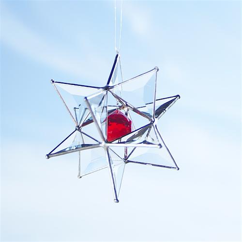 Cosmic Bal l- RED ( 3D サンキャッチャー )