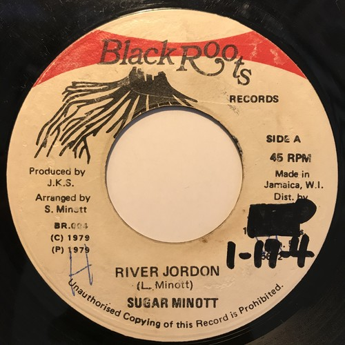 River Jordon - Sugar Minott 【7-10805】