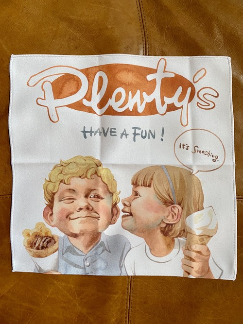 【かとうくみ マイクロファイバータオル】 Plenty's Tom&Becky