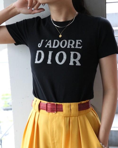 Christian Dior black T-shirt
