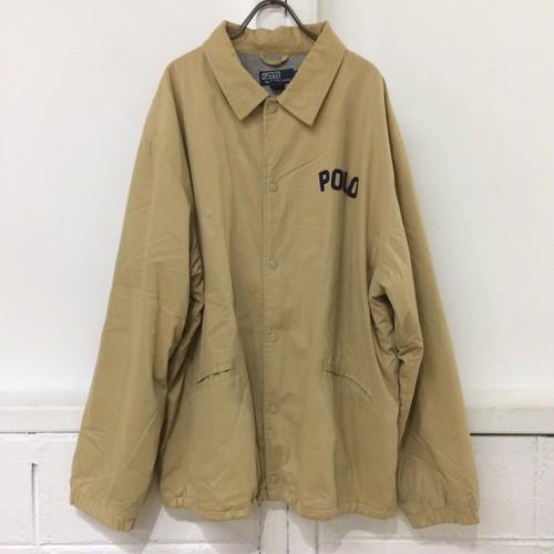 OLD Polo by Ralph Lauren コットン コーチジャケット size:XL