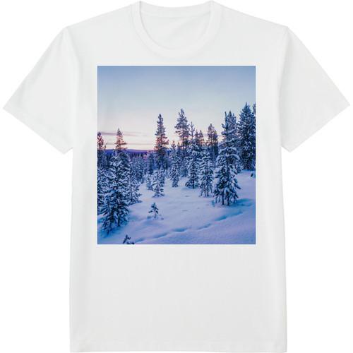 17.Finland100 Tシャツ / スノーシューイング