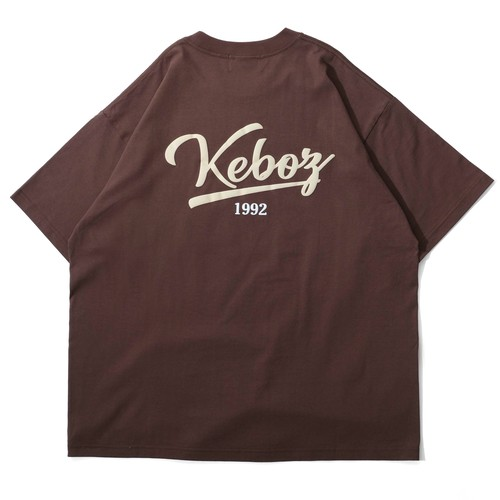 ICON LOGO S/S TEE【BROWN】
