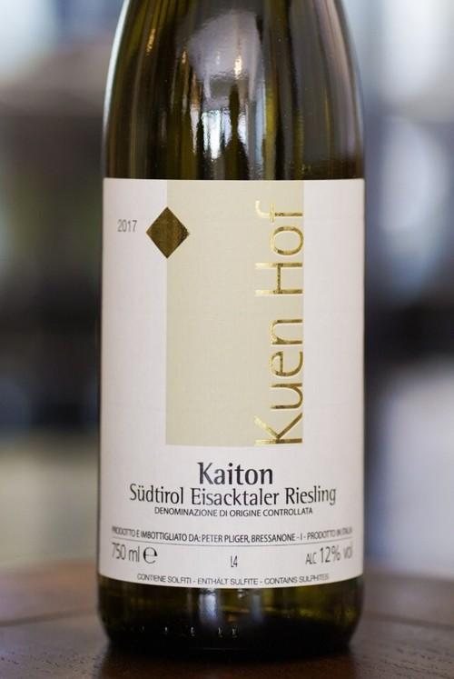 Riesling Kaiton 2017 / Kuenhof Peter-Pliger(リースリング カイトン/クエンホフ ピーター プリガー)