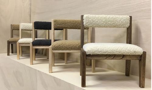 small chair  ホワイトオーク+ 真鍮(オイル仕上げ:ブラウン)