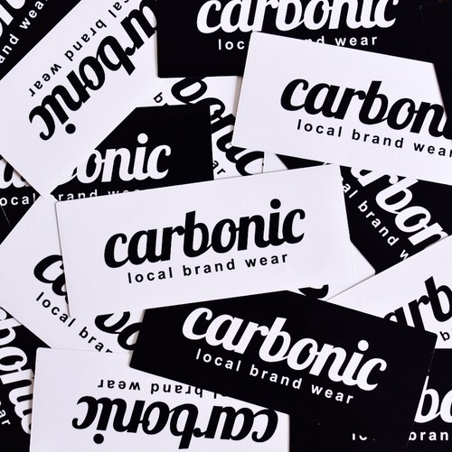 carbonic STDLOGO sticker