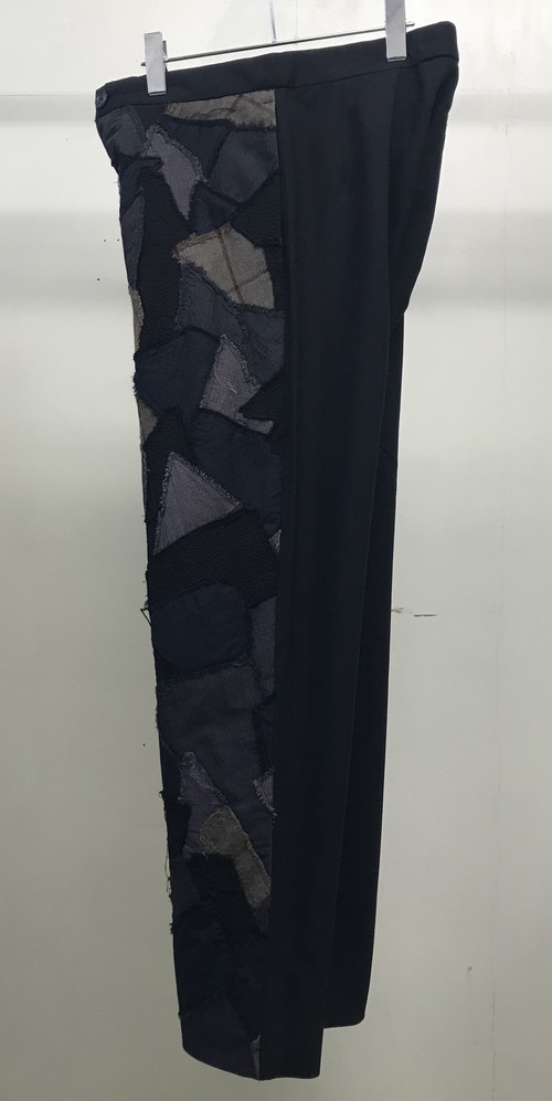 2000s DIRK SCHONBERGER PATCHWORK TROUSERS
