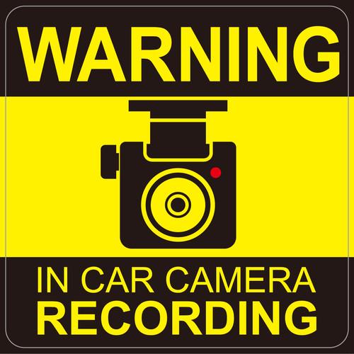"""056 warning 安全運転でお願いします。""""California Market Center"""" アメリカンステッカー スーツケース シール"""