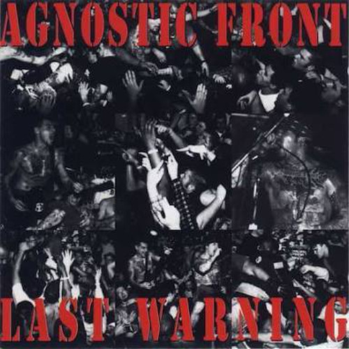 【USED】AGNOSTIC FRONT / LAST WARNING