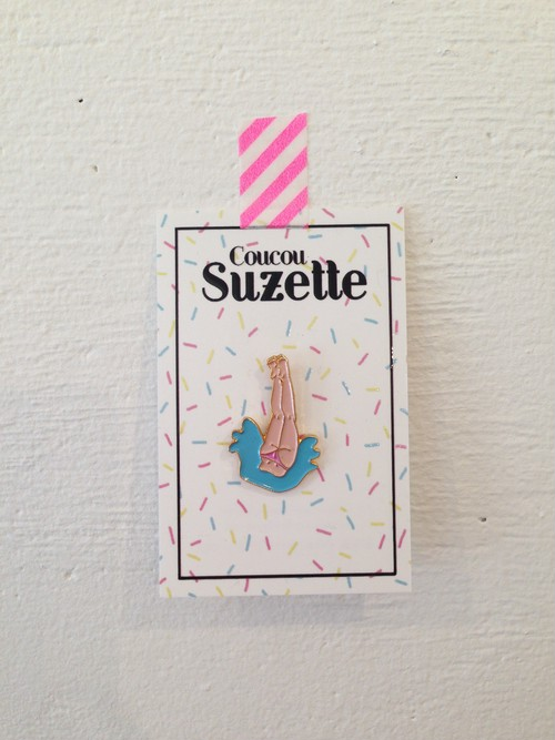 Coucou Suzette SPLASH PIN
