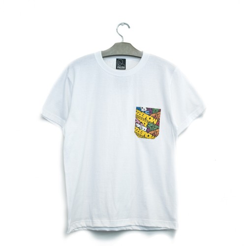 RAZZLE / UGM POCKET SS TEE / WHITE