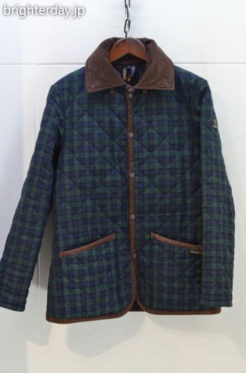 LAVENHAM × FACTOTUM キルティングジャケット