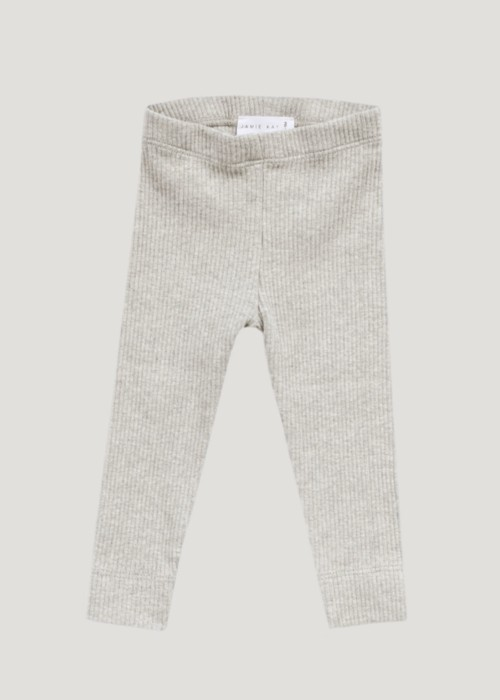 Cotton Modal Legging-Oatmeal