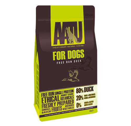 【定期便・送料無料】ヒューマングレードの原材料【ドッグフード総合栄養食】AATU アートゥー80/20 ダック 10kg
