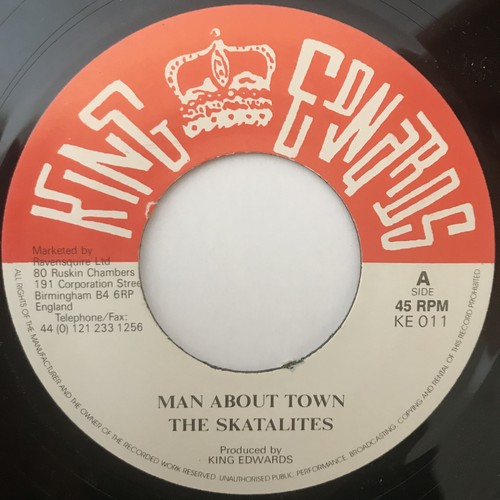 The Skatalites - Man About Town【7-1101】