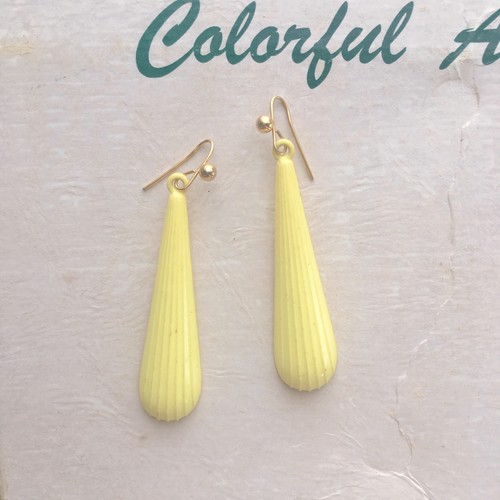 FASHION EARRINGS ❤︎ レモン