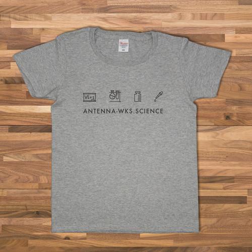 科学 Tシャツ/グレー【CWE-093GR】
