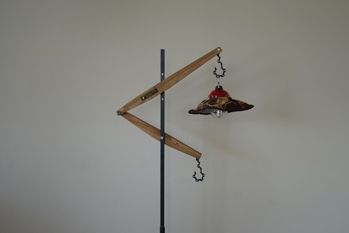 Lantern stand  Lloyd Wood CAMPOOPARTS&gravity-equipmentコラボ ランタンスタンド「ロイド」ウッド キャンプ オーパーツ